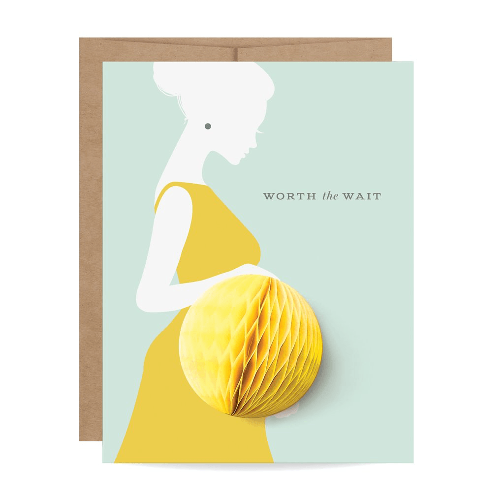 Baby Bump Pop-up Card Card Johnathan Michael's Boutique