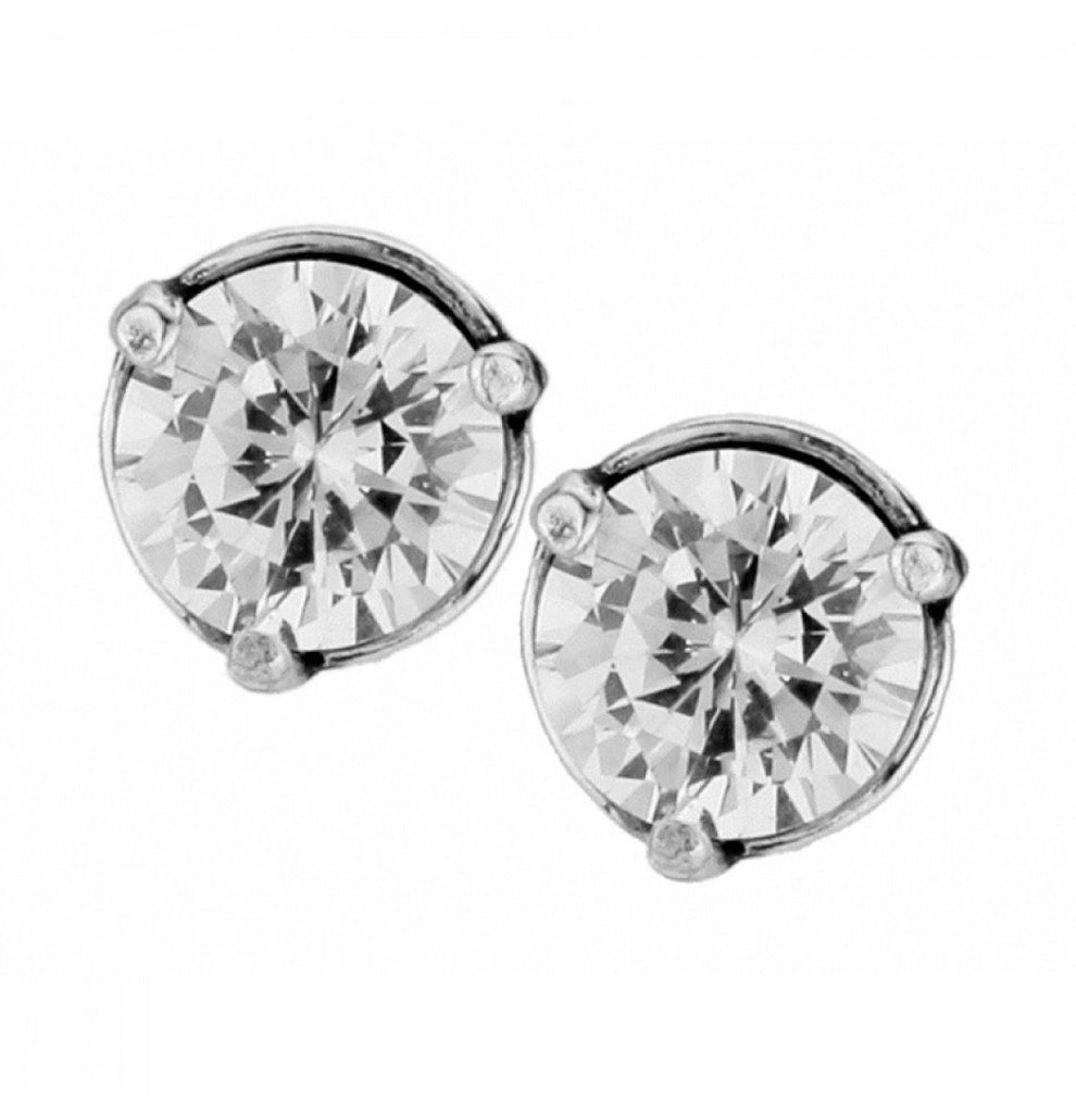 Brilliance 7MM Post Earrings JE154A - Johnathan Michael's Boutique