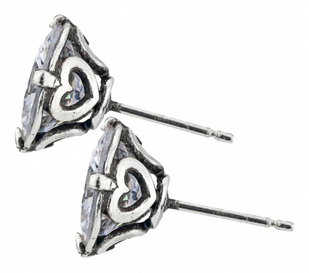 Brilliance 8MM Post Earrings JE154B - Johnathan Michael's Boutique