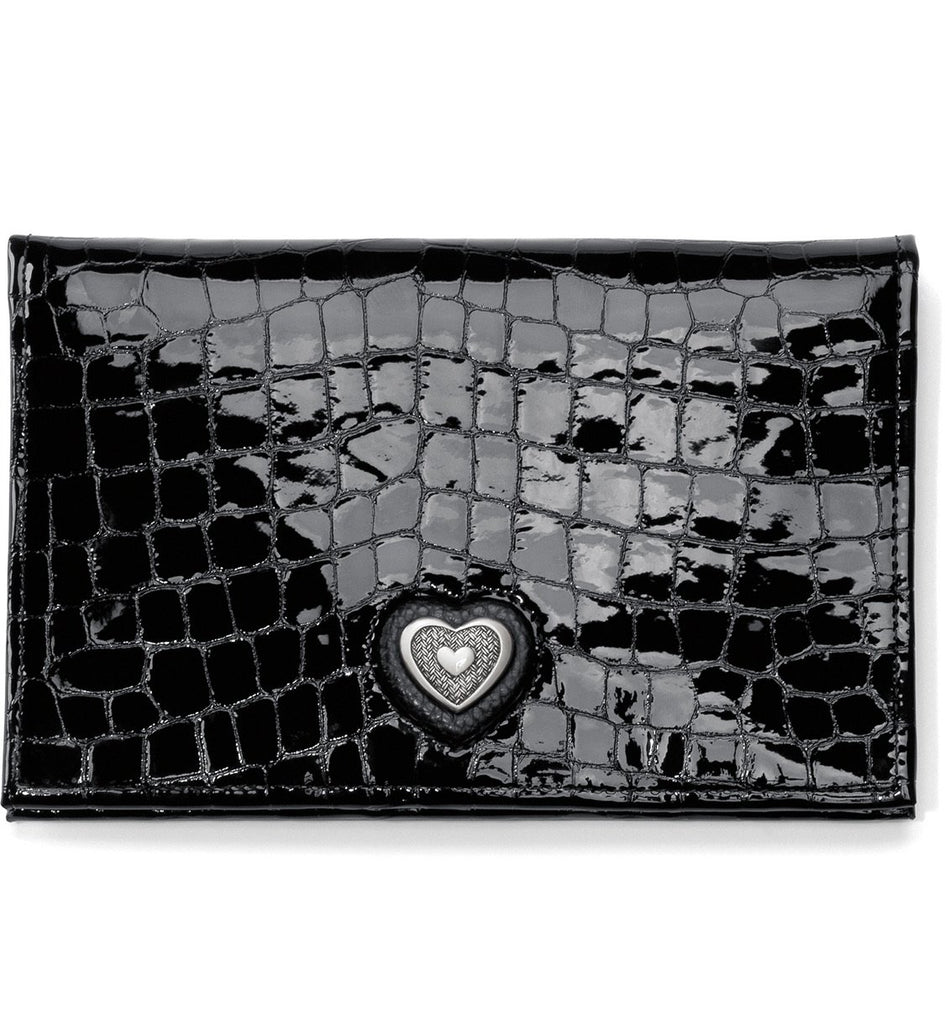 Bellissimo Heart Folio Wallet T34973 - Johnathan Michael's Boutique