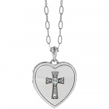 Call To Love Heart Locket Necklace JL9171 Necklaces Brighton