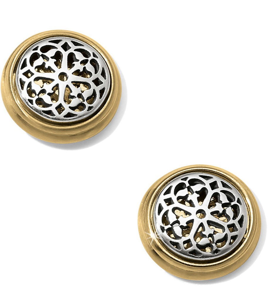 Ferrara Two Tone Post Earrings JA5802