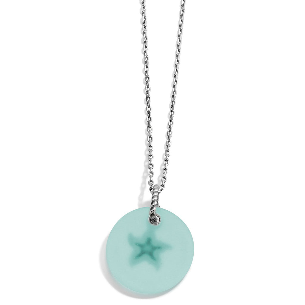 Sea Shore Star Glass Necklace - Johnathan Michael's Boutique