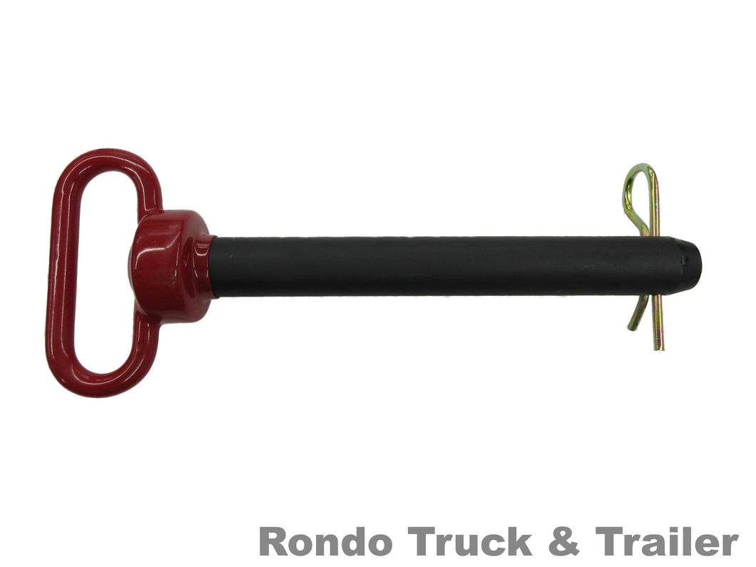 Double HH Trailer Hitch Pin 1 1/8
