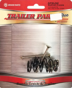 "Redline Trailer Parts Brake Shoe Hold Down Springs for 12"" x 2"" Hydraulic/Electric BP06-090"