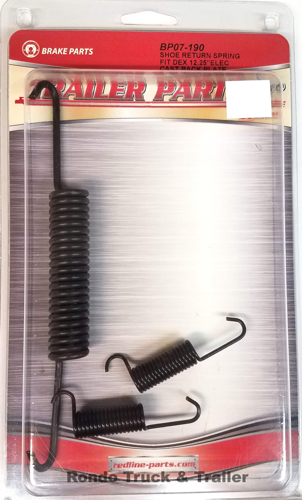 Redline Trailer Parts Brake Return Spring Kit for Dexter 12.25