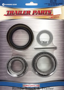 "Redline 3,500# Axle Bearing Kit for #84 Spindle, 1.063""-1.375"" Double Lip Seal BK2-100"