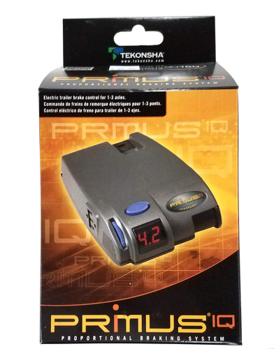 Tekonsha Primus™ IQ Electronic Brake Control, for 1 to 3 Axle Trailers, Proportional 90160