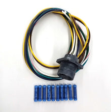 Load image into Gallery viewer, Hiniker 10 Pin Grill Side Snow Plow Wiring Pigtail 38813074