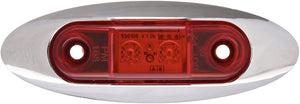 PM Peterson Sealed LED Clearance Marker Light Kit W/ Chrome Bezel V168XR