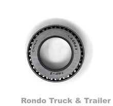 "Load image into Gallery viewer, Trailer Axle Bearing, 1.00"" ID I/O for 2,000 lb. Axles L44643"