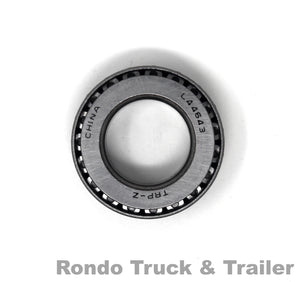 "Trailer Axle Bearing, 1.00"" ID I/O for 2,000 lb. Axles L44643"