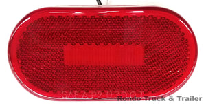 Trailer Oval Marker Light -  LED - MCL-31AB / MCL-31RB