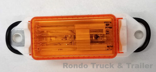 Trailer Clearance Light - Incandescent - Amber Lens 107WA