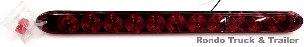 Trailer Low Profile ID Bar Light - Red LED - T12-RR00-1