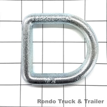 "Load image into Gallery viewer, Cargo Control D-Ring, 1/2"" Bolt-On"