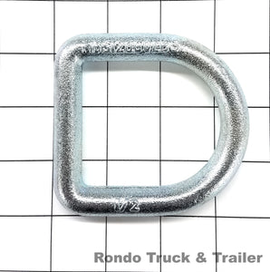 "Cargo Control D-Ring, 1/2"" Bolt-On"