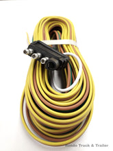 Load image into Gallery viewer, 4 Way Flat Male Plug 25' Trailer Wiring Harness