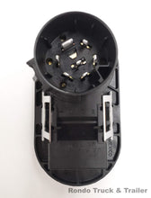Load image into Gallery viewer, Pollak OEM Replacement 7 Way Round/4 Way Flat Trailer Wiring Plug
