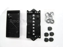 Load image into Gallery viewer, 12 Volt 7 Stud Trailer/RV/Camper Wiring Junction Box
