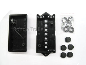 12 Volt 7 Stud Trailer/RV/Camper Wiring Junction Box