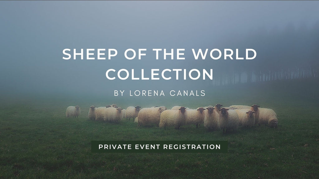 Lorena Canals Sheep of the World Collection Private Event Registration