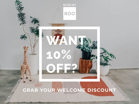 Welcome Discount Banner