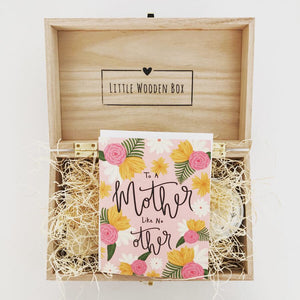 """Mother Like No Other"" Box"