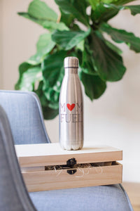 """Mom Fuel"" Stainless Steel Bottle"