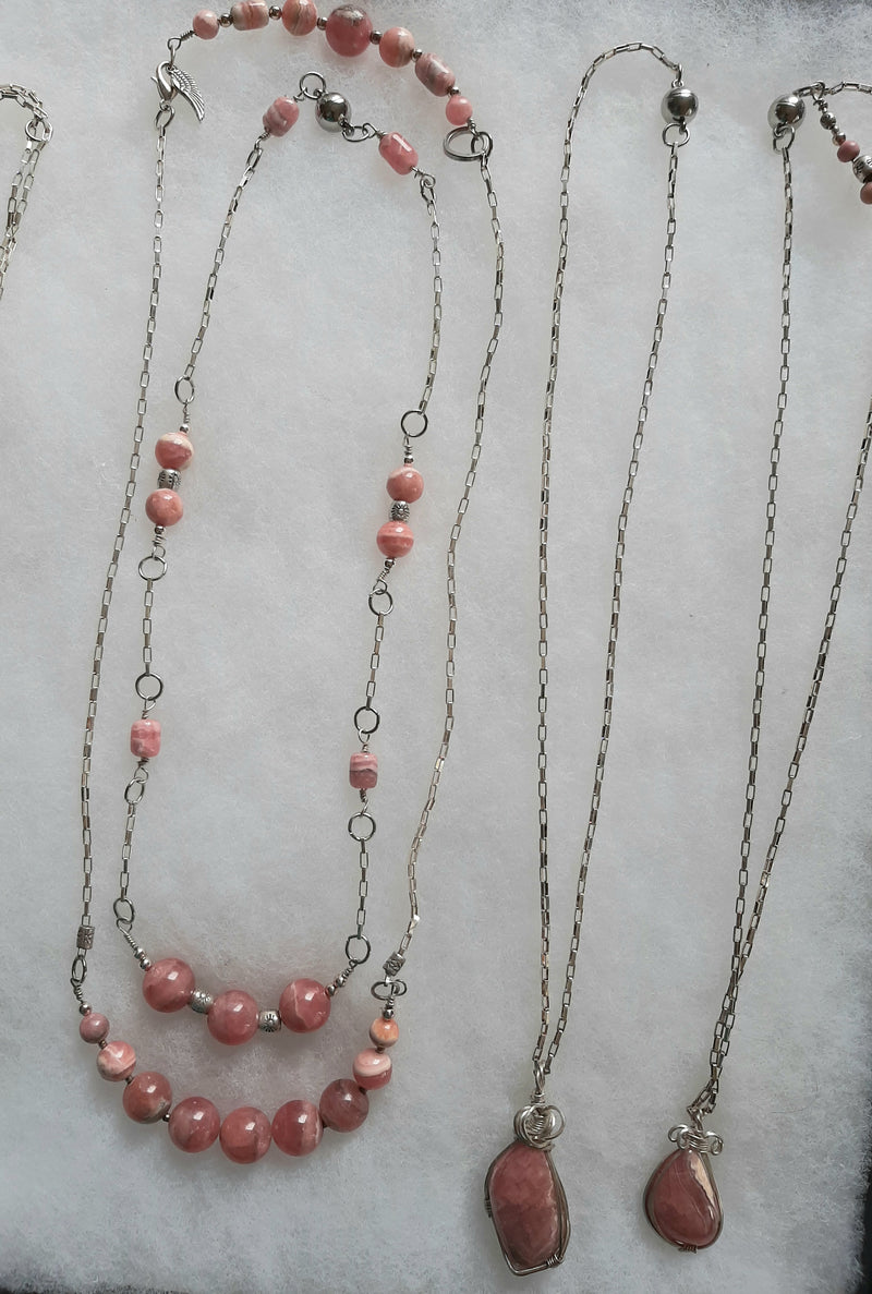 Check out what is available here! Rare Gem Rhodochrosite Collection