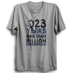 CRIC 02- 23 Years One Man -Half Sleeve-Grey