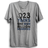 Image of CRIC 02- 23 Years One Man -Half Sleeve-Grey