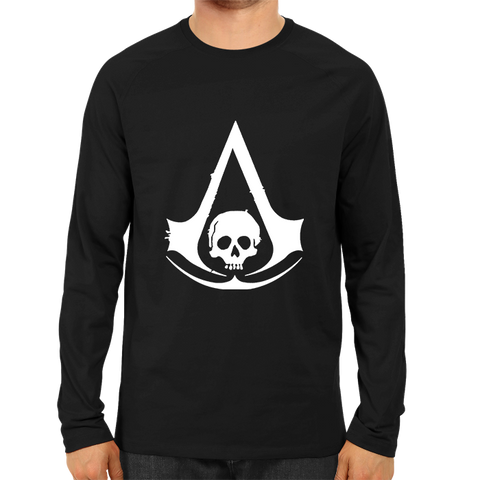 Assassin's Creed Black Flag Full Sleeve Black