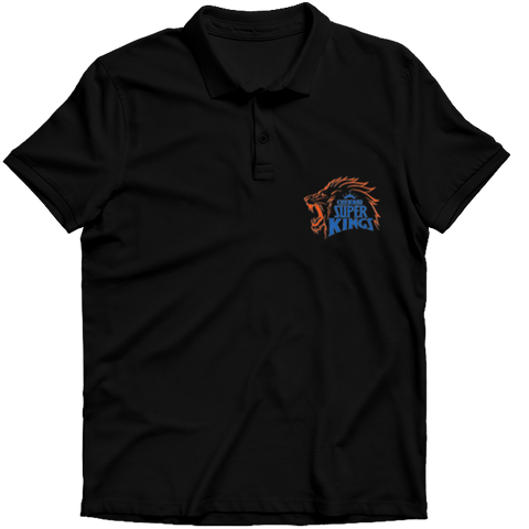 IPL 01 B- CSK Polo T-shirt