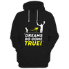 Image of CRIC 12- Dreams Do Come True -Hoodie-Black