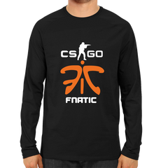 CS GO Fnatic Full Sleeve Black