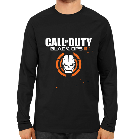 Call Of Duty Black Ops 3 Full Sleeve Black