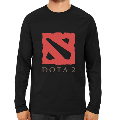 Dota Logo Full Sleeve Black