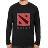 Image of Dota Logo Full Sleeve Black
