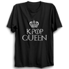 Image of K-POP Queen Half Sleeve Black