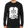 Image of Keep Calm, I AM A Pro Full Sleeve Black