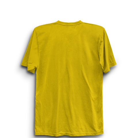 IPL 01 Y - Chennai Super Kings Half Sleeve Yellow