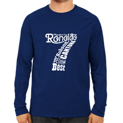 Ronaldo 7 -Full Sleeve Navy Blue
