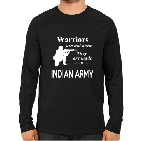 Warriors Indian Army Full Sleeve Black