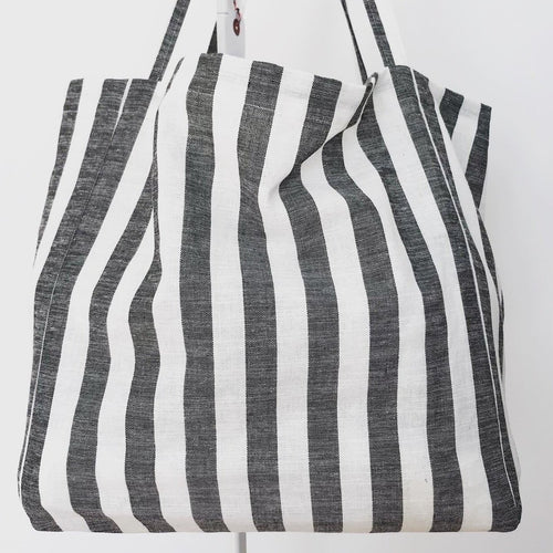 Venice Bag Stripes Gray