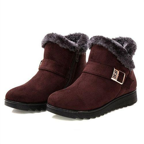 National Style Warm Snow Boots And Cotton Shoes
