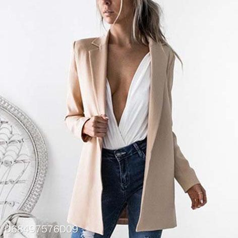 Sexy Long Sleeves Lapel Slim Cardigan Cover Ups