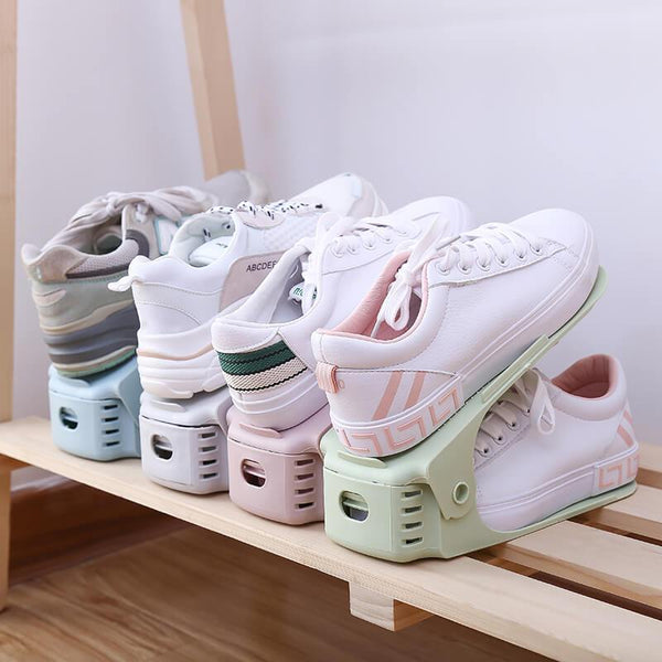 Home Double-Decker Shoes Storage Rack