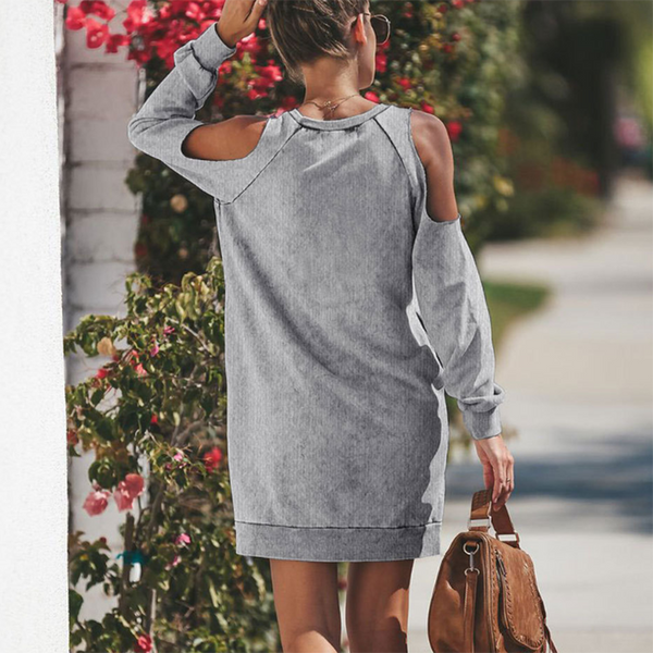 Long Sleeve Sexy Dress Hoodies