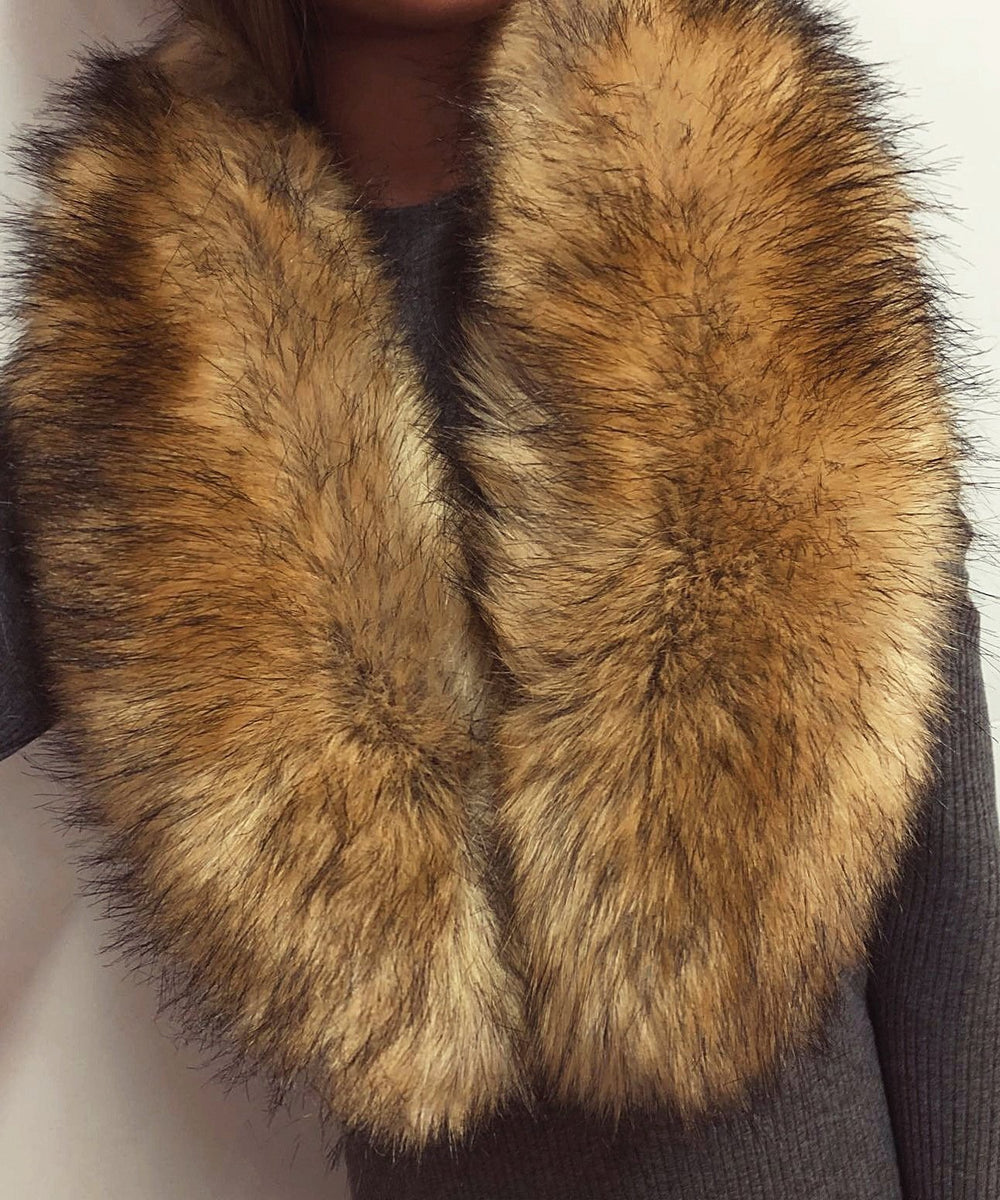 Fashion Warm Imitation Fox Fur Scarf